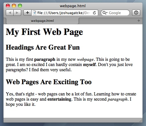 How To Design A Web Page Using Html